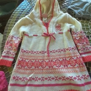 Girls hooded sweater size 3t